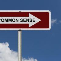 Personal Finance is Common Sense